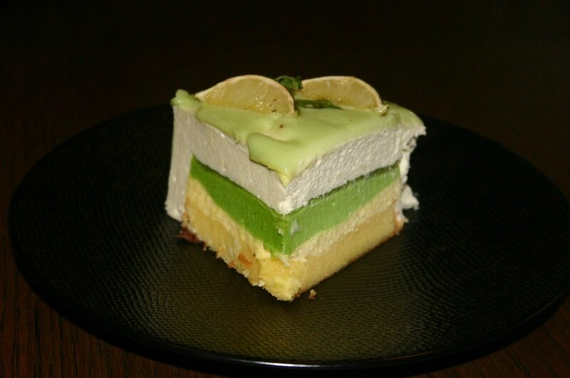 entremet apple mojito la f e chantilly. Black Bedroom Furniture Sets. Home Design Ideas