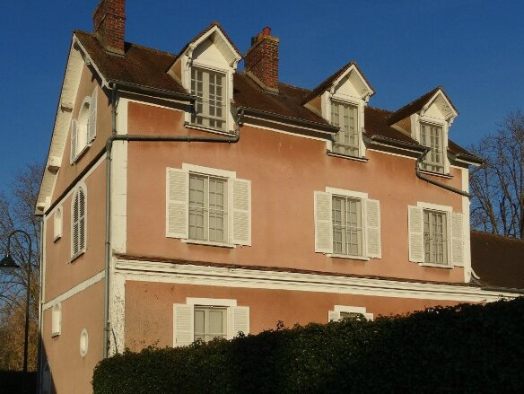 Maison rose Giverny