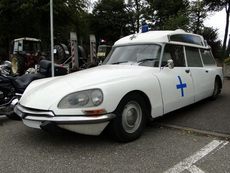 CITROEN DS 20 Ambulance 1974 Bourse de Crehange 2009 1