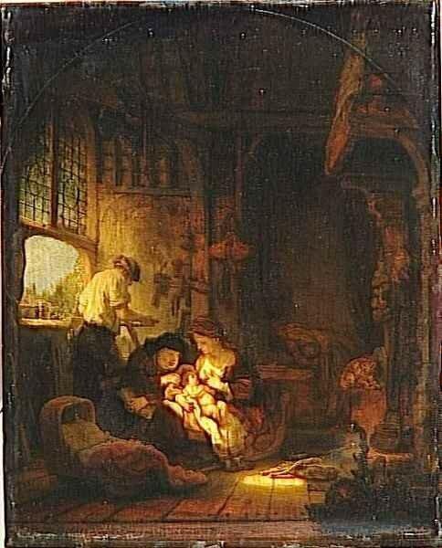 01 - Sainte Famille dite aussi le ménage du menuisier '2)