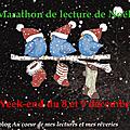 Marathon de lecture de noël les 8 et 9 décembre !