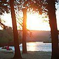 Coucher de soleil au Lac 070916