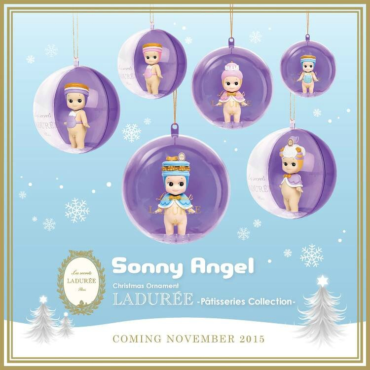 SONNY ANGEL LADUREE ET NOEL
