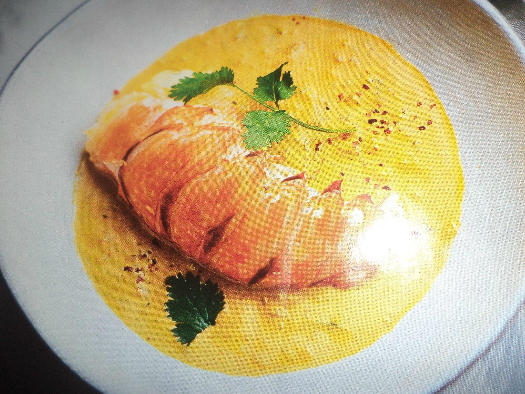 Curry de langouste