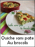 quiche san pate brocolis weight watchers