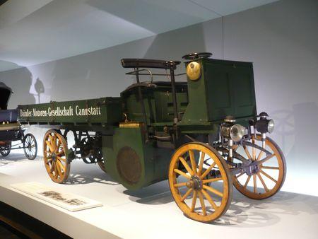 DAIMLER Motor Lastwagen 1898 Stuttgart (1)