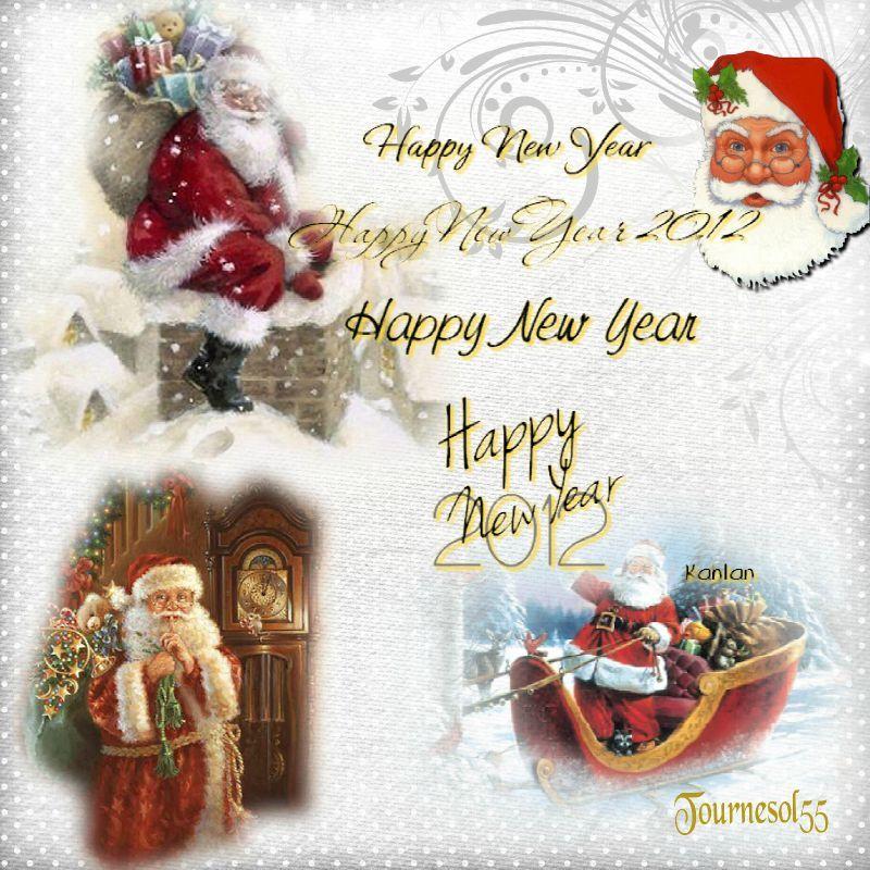 * Meilleurs voeux pour 2012