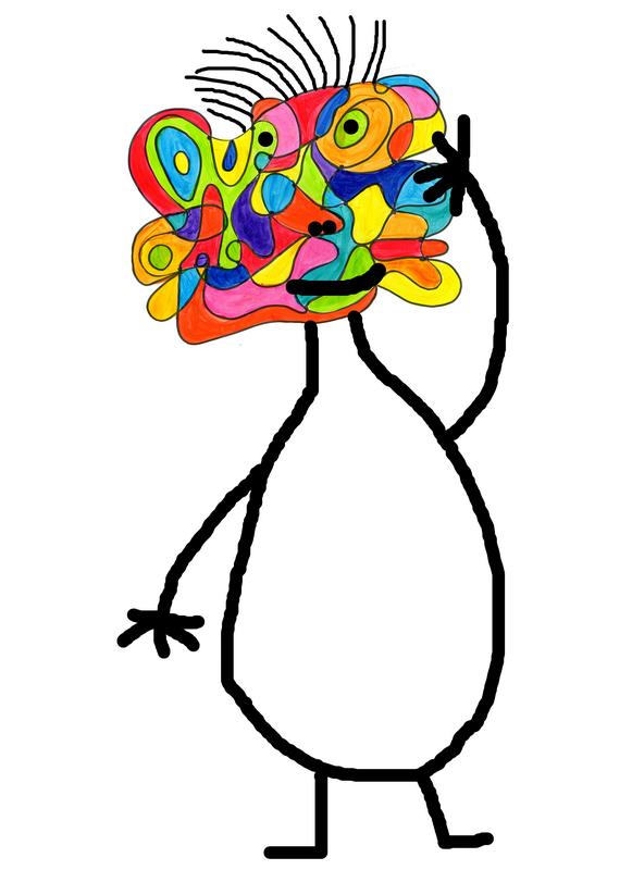 128_Composition abstraite_ De point à point (visage +)-001