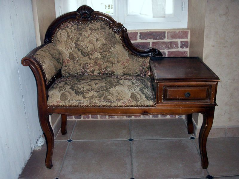 Ancien meuble t l phone avant apres r cup r bel 39 home for Meuble telephone
