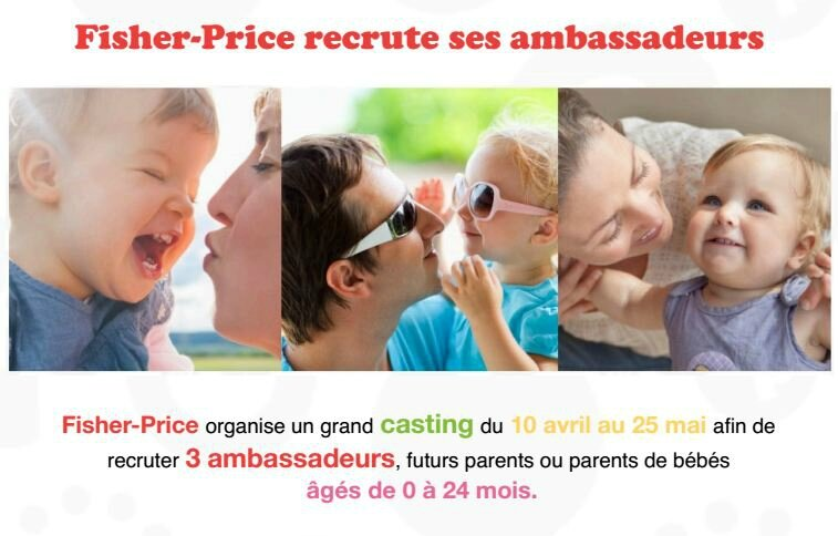 ambassadeur-fisher Price