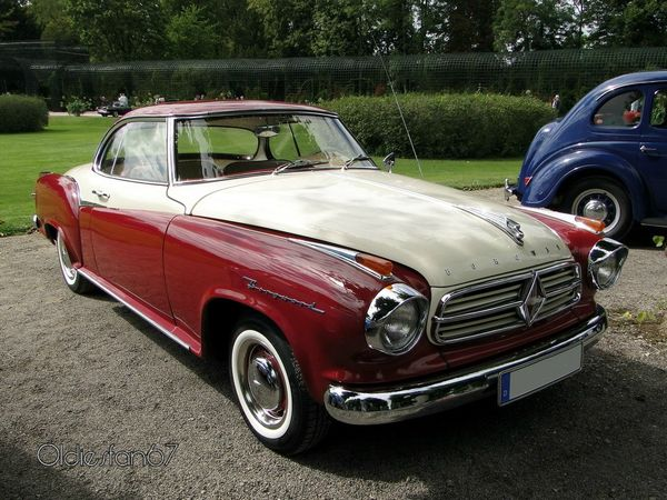 borgward isabella coupe 1959 a