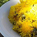recette gelee pissenlit dandelion jelly recipe lilybouticlou