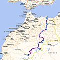 Itinéraire du carta maroc 2015