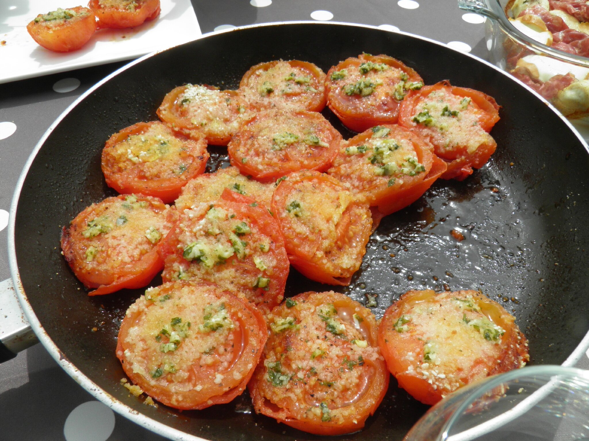 Accompagnement tomates proven ales terre et mar - Accompagnement barbecue pomme terre ...