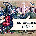 WALLERS EN FAGNE-Carte Souvenir