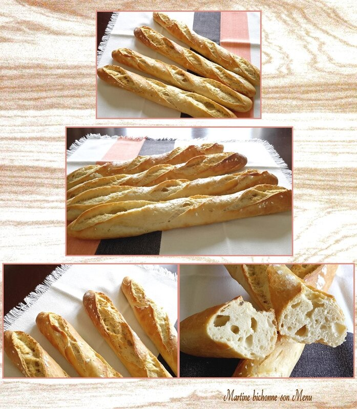 baguettes express eu Thermomix