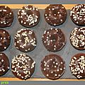 Mini donuts tout chocolat