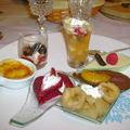 Un dessert gourmand chez des Amis à Carnoux en Pce