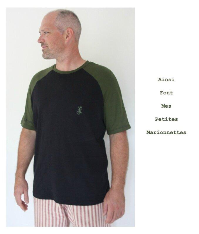 tee shirt vert gecko charly 5