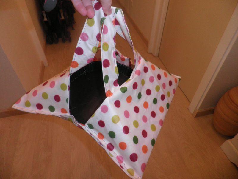 Le sac porte tarte pour maman my tailor isa - Porte tarte en tissu ...