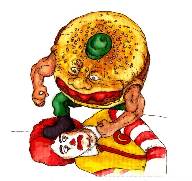foodfightervsronald