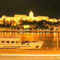 Budapest en Hongrie de nuit