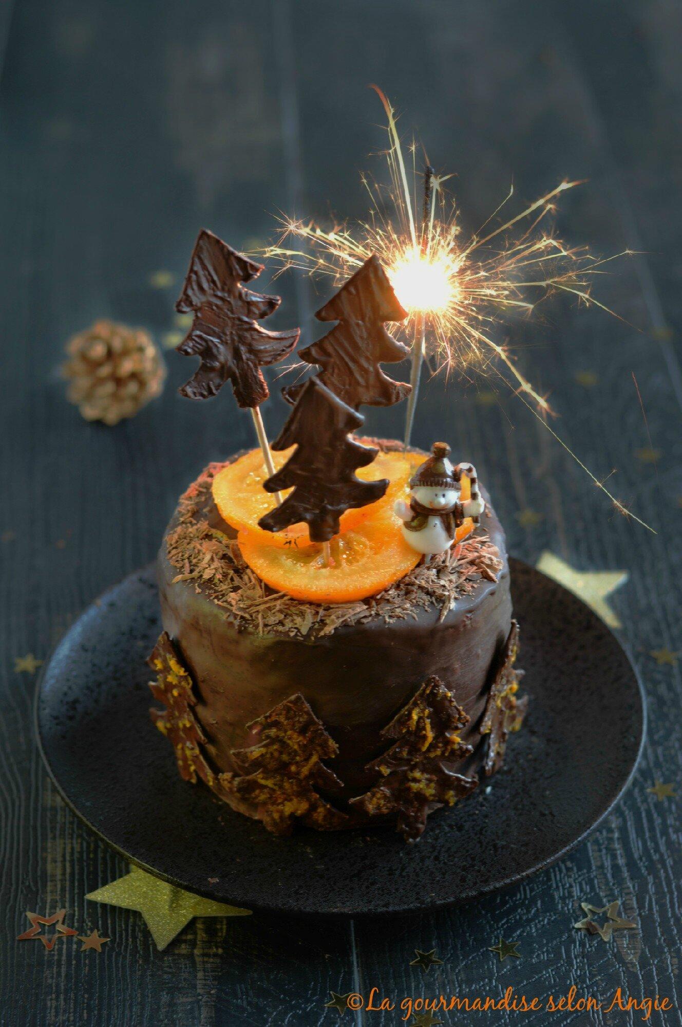 Cake  Ef Bf Bd L Orange Chocolat