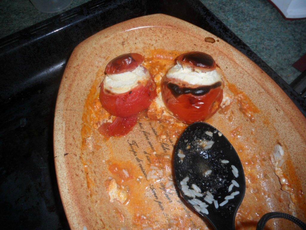 Tomates farcies à la ricotta et riz
