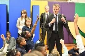 Macron-Ecole