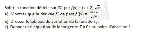 1ere derivation application aux variations 4 3