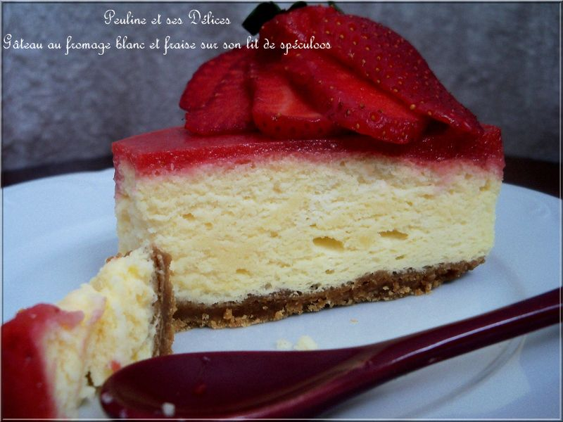 Gateau speculos fruit rouge