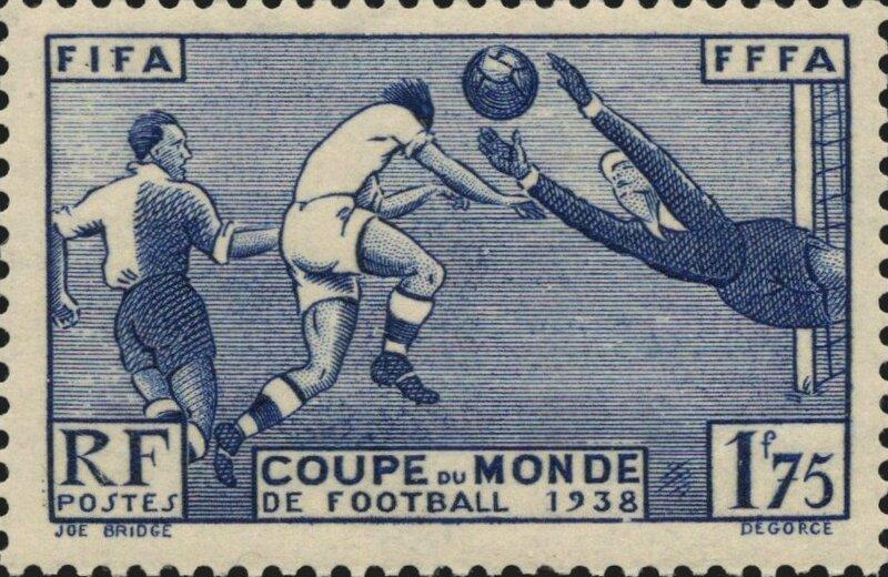 1938 Timbre français