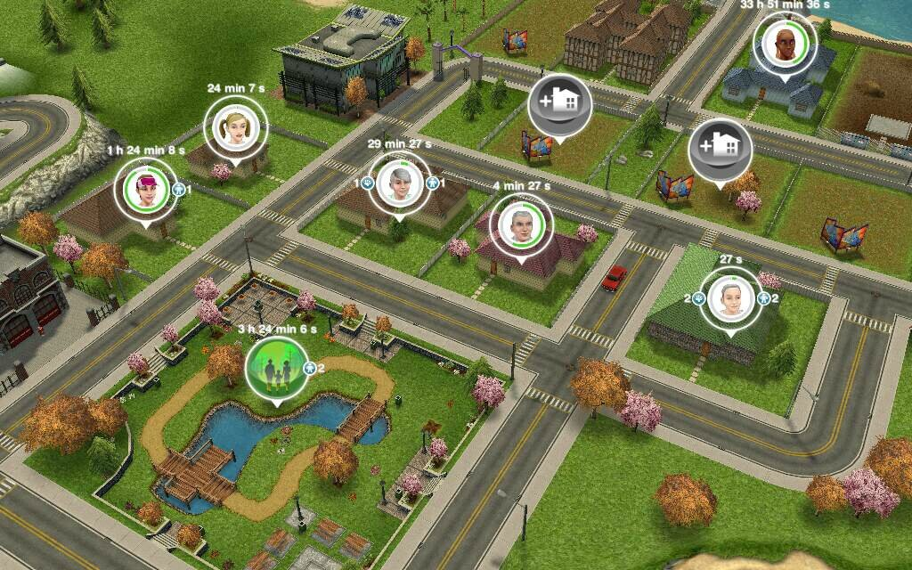 Les sims freeplay cr er un v tement les t ches for Modele maison sims freeplay