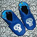 Opération déstockage ta'thilde #2: les petits chaussons de pirates