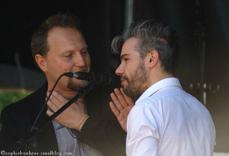 Oldelaf et Fabrice Lemoine