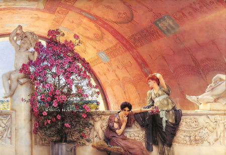 Alma_Tadema_Unconscious_Rivals_1893