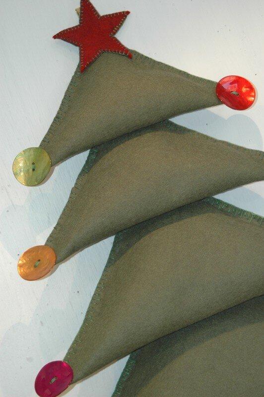 Un chouette sapin de Noël (d'après une idée chipée dans Prima)