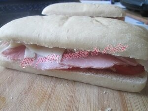 panini au jambon, tomate & fromage à raclette11