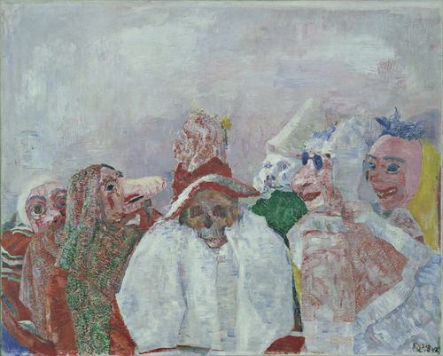 An analysis of the scene in the assassination a painting by james ensor