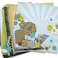 Kit Atelier Multi*Albums d'Avril (2ème version) Sophie72