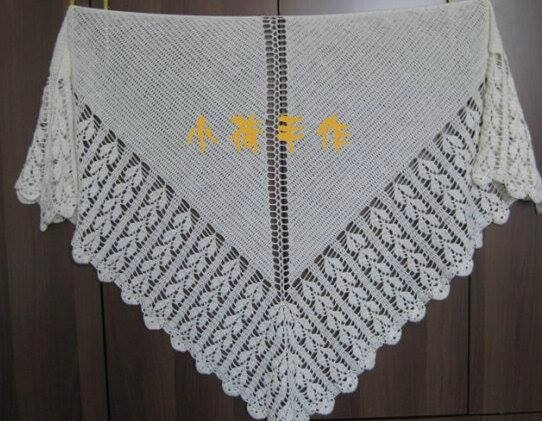chale crochet trico 1