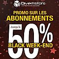 Black week-end chez divertistore