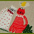 panneau chat feutrine 3