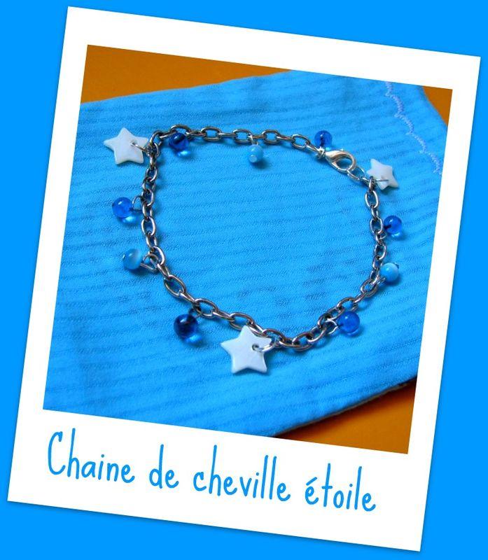 Chaine de cheville Marie (CH6)