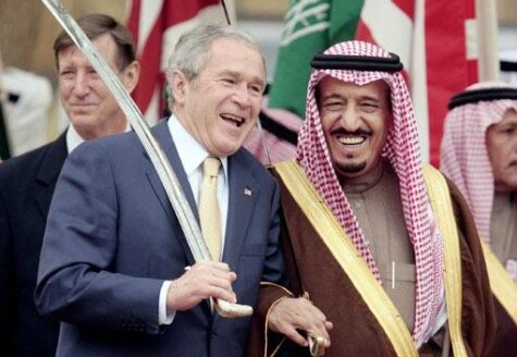 USA Saudi Arabia George W