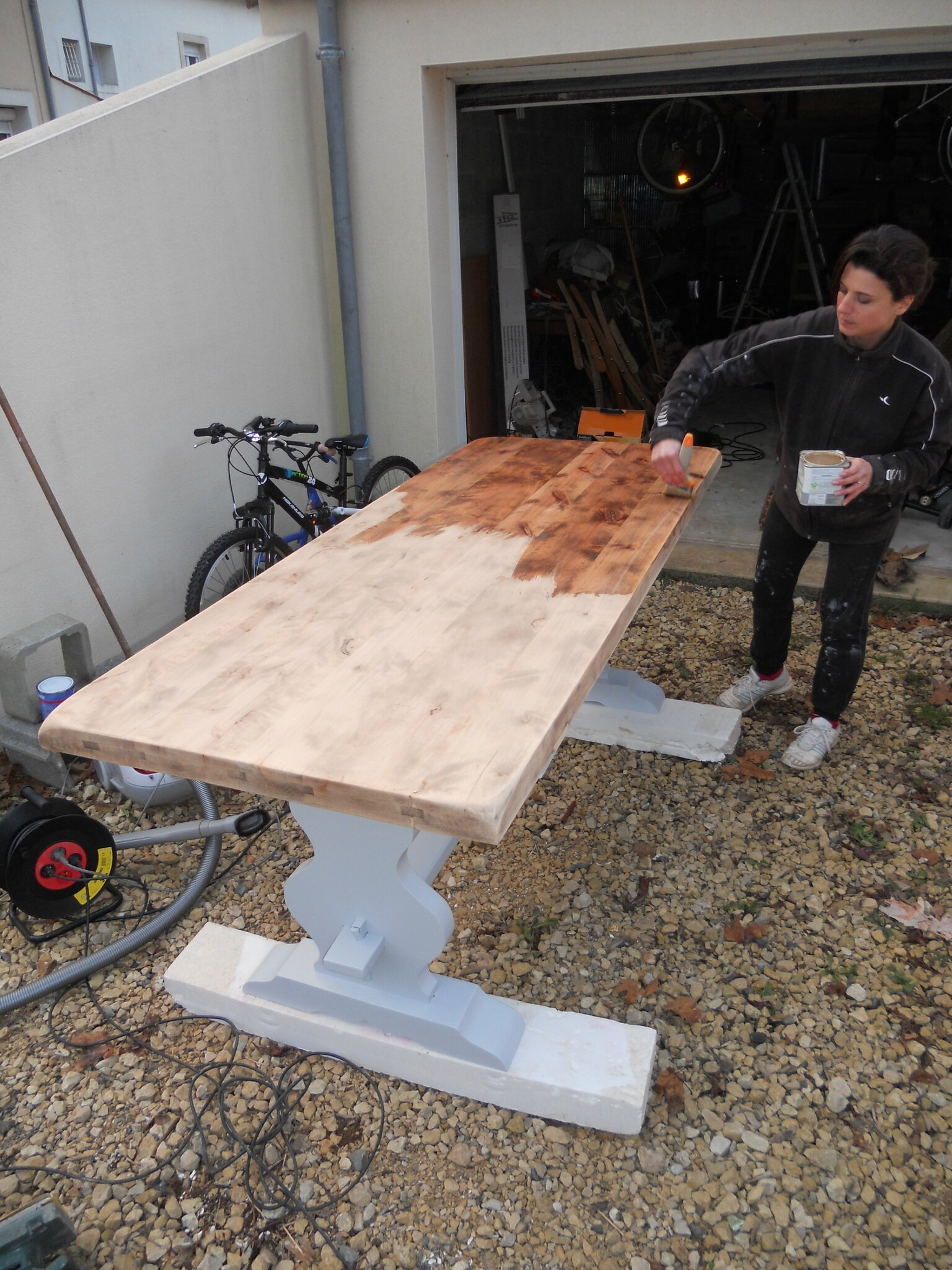 Diy relooking mobilier cr er ma d co - Relooker une table ...