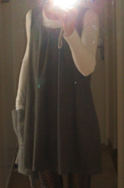 Robe lainage gris (déc 2008)