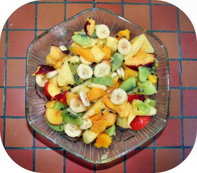 Clxxvi salade de fruits 39 obligatoire 39 wanderlust nc - Conservation ananas coupe ...