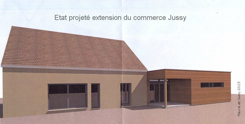 2013 Etat projeté extension commerce