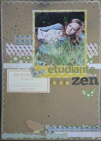 etudiante Zen